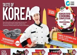 LOTTE MART Taste of Korea
