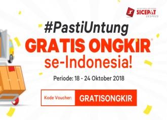 Belanja Online Gratis Ongkir via SiCepat