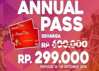 Special Price Annual Pass