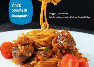 FREE Spaghetti Bolognaise