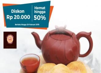 Diskon Rp 20.000 dan Hemat hingga 50%