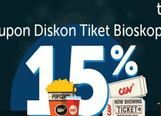 Diskon 15% dengan Traveloka