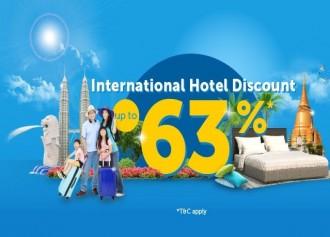 Up To 63% International Hotel
