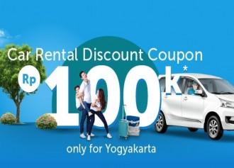 Diskon 100K Rental Mobil di Yogya