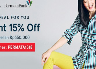 15% Off with Permata Bank