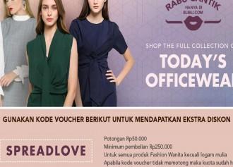 Today's Office Wear tiap Rabu