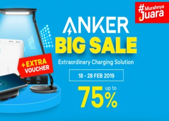 BIG SALE, up to 75% + Extra Voucher!