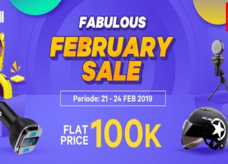 February Sale, Flat Price 100K