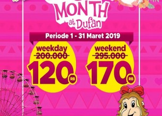 Girl's Month at Dufan