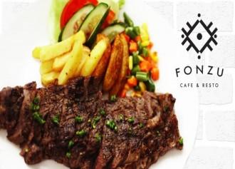 Steak Menu + Ocha 10% OFF
