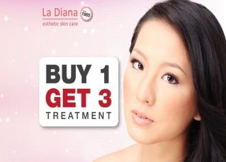 Buy 1 Get 3 Treatment