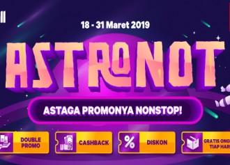 Promo ASTRONOT, ASTAGA PROMONYA NONSTOP!
