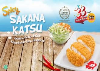 Get a delicious Spicy Sakana Katsu for free