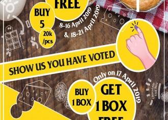 Buy 1 Box get 1 Box Free