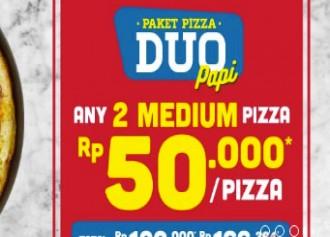 Any 2 Medium 50K/Pizza
