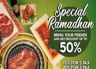 All You Can Eat Special Ramadhan