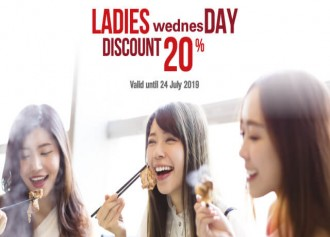 Ladies Wednesday Discount 20%
