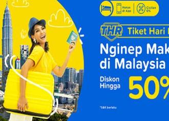 50% Off nginap di Malaysia