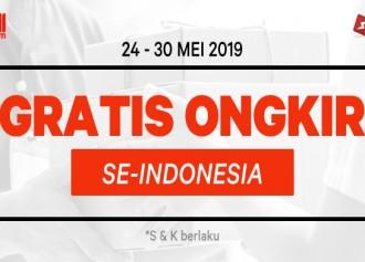 Gratis Ongkos Kirim Seluruh Indonesia!