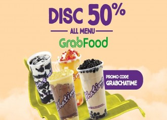 Discount 50% By GrabFood