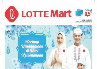 Promo Idul Fitri LOTTE MART