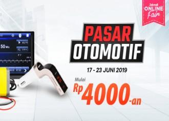 Pasar Produk Otomotif Termurah Mulai Rp 4 Ribuan + Cashback!