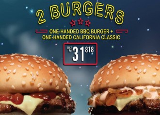 2 Burgers Only Rp. 31,818
