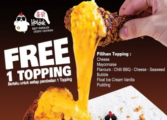 Free 1 Topping