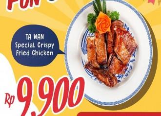 Crispy Fried Chicken Rp 9.900