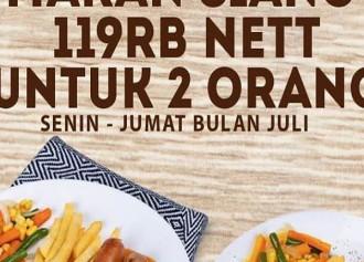 Lunch 119K Nett For 2