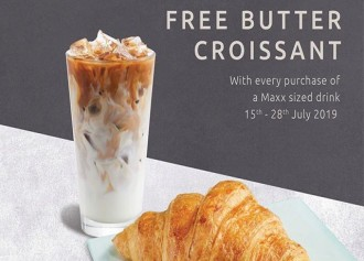 Free Butter Croissant
