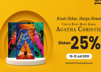 25% Off Karya Agatha Christie