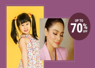 Shopee Celebrity Squad up to 70% Off