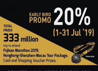 20% Off Early Bird Promo