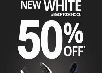 50% Off Back to School Promo