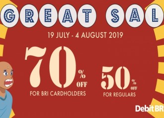 70% & 50% Great Sale