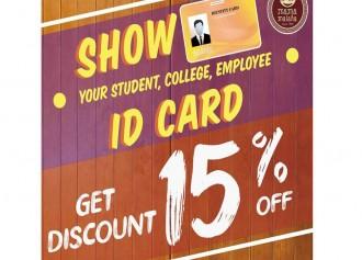 Get Discount 15% Off