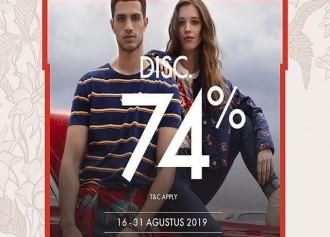 74% Off