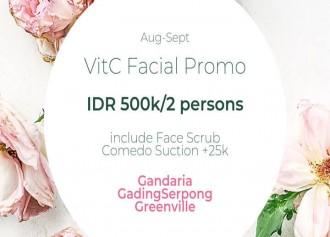 Buy 1 Get 1 Vit C Facial