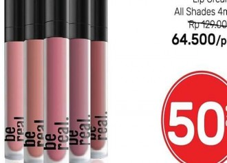 Be Real Lip Cream 50% Off