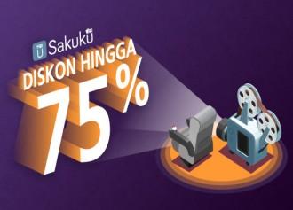 Diskon Hingga 75%