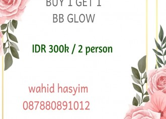 Buy 1 Get 1 BB glow
