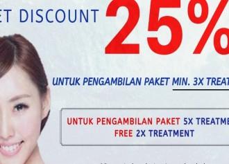 Discount Paket 25%