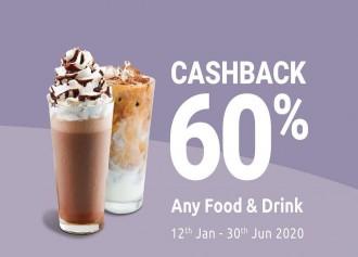 Cashback 60%
