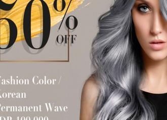 50% Off Fashion Color / Korean Permanent Wave