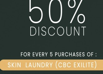 50% Off for Skin Laundry (CBC Exilite)