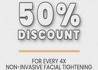 50% Off for Non-Invasive Facial Tightening