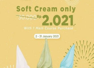 Soft Cream only 2.021