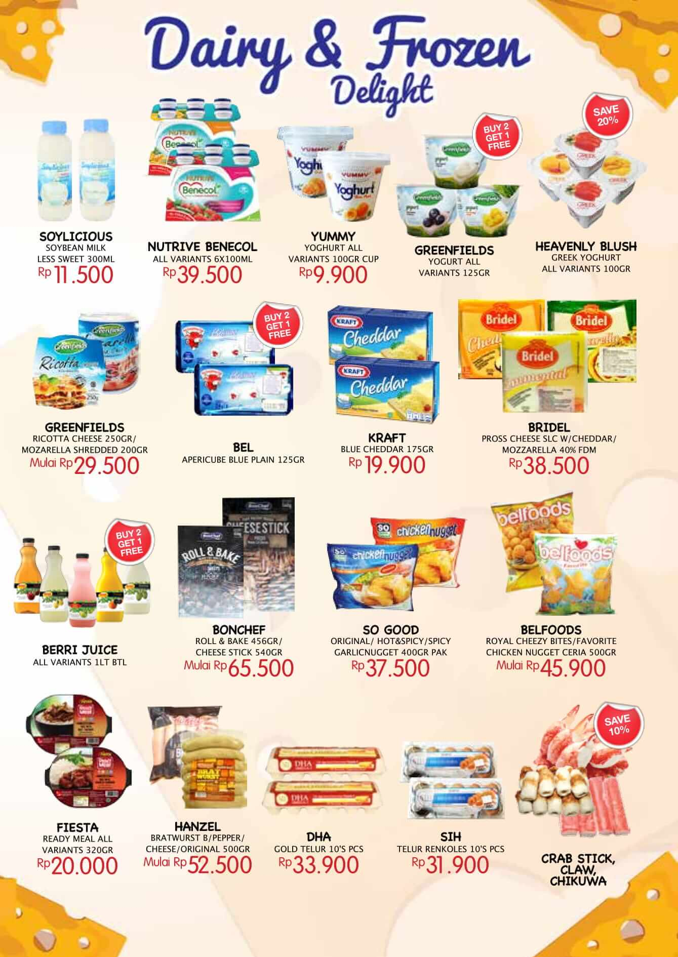 Katalog Farmers Market 18 May 31 Belfoods Favorite Chicken Nugget Ceria Type To Search Item In This Catalogue