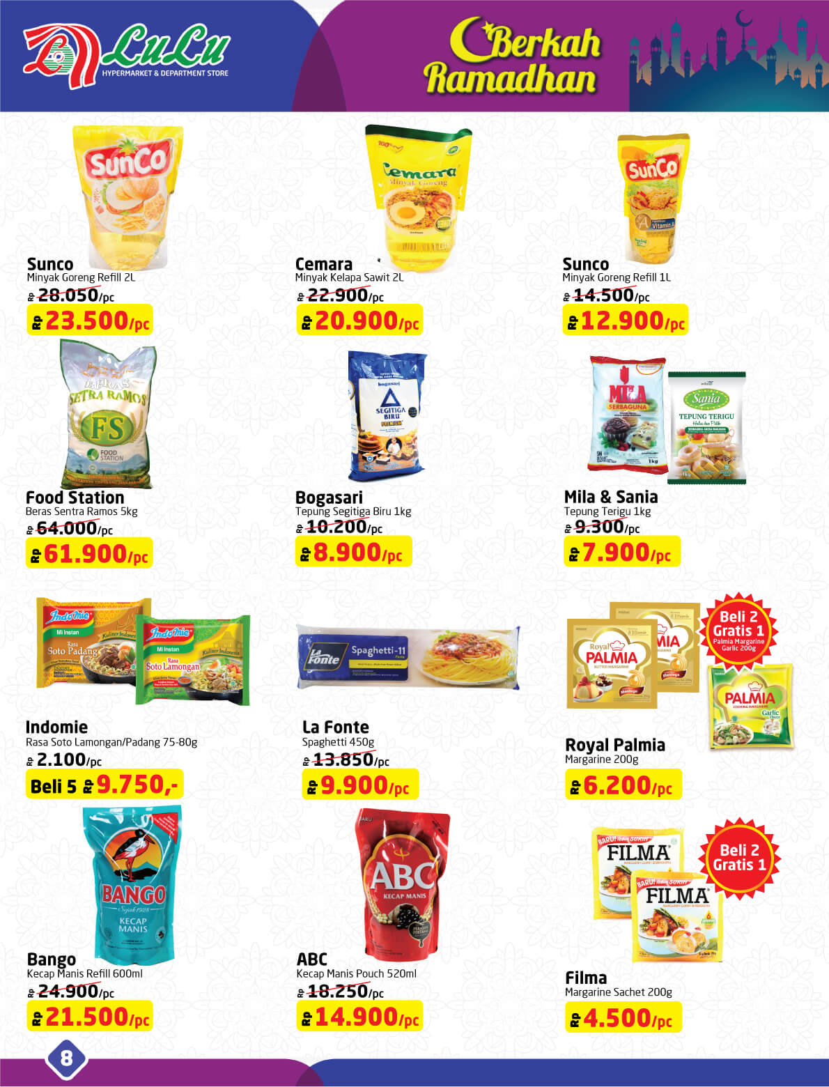 Katalog Lulu Hypermarket Department Store 23 May 6 Kecap Manis Abc Reffill 520ml Type To Search Item In This Catalogue